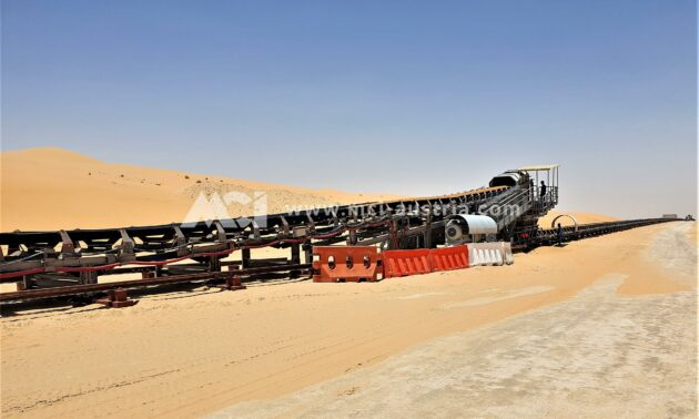 Belt Conveyor mining
