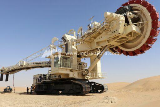 Bucket Wheel Excavator General Overhaul MCI