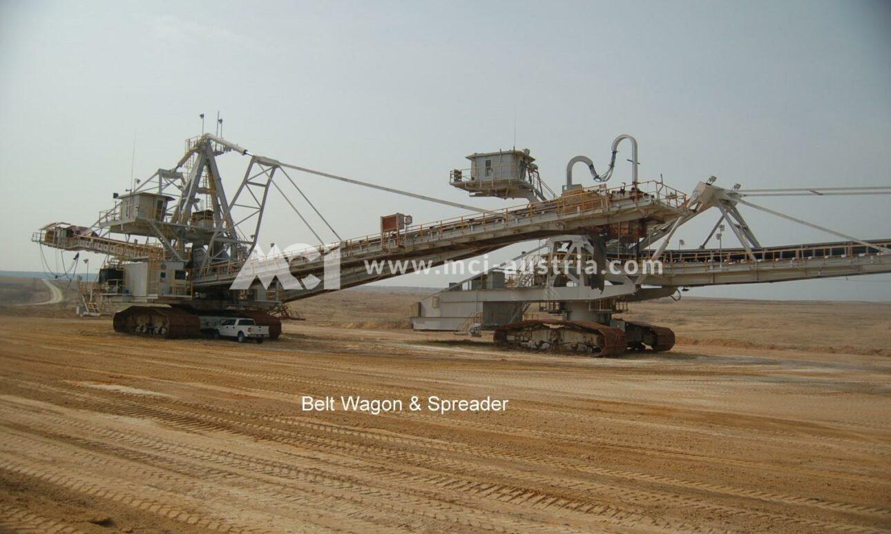 Used Belt Wagon & Spreader for sale MCI