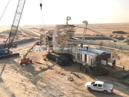 Bucket Wheel Excavator installation