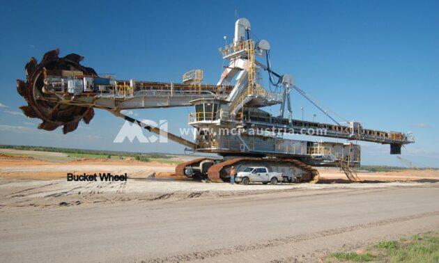 Used Bucket Wheel Excavator Demag for sale