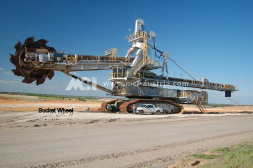 Used Bucket Wheel Excavator Demag for sale