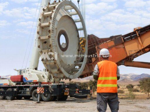 Bucket Wheel Excavator Dismantling MCI