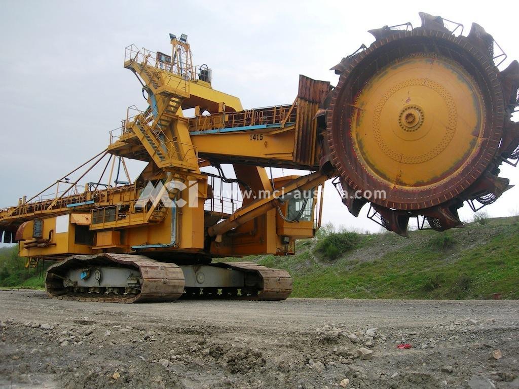 Used Bucket Wheel Excavator for sale Krupp