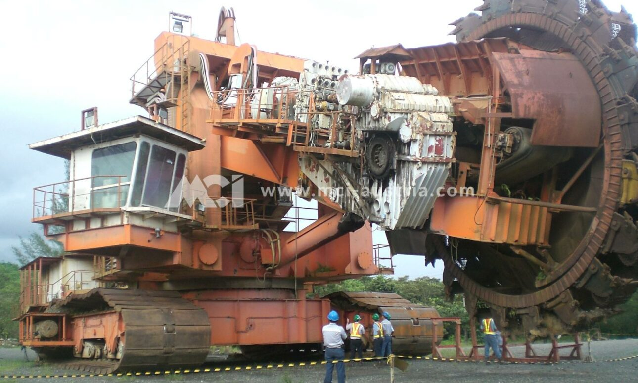 Used Bucket Wheel Excavator for sale MCI