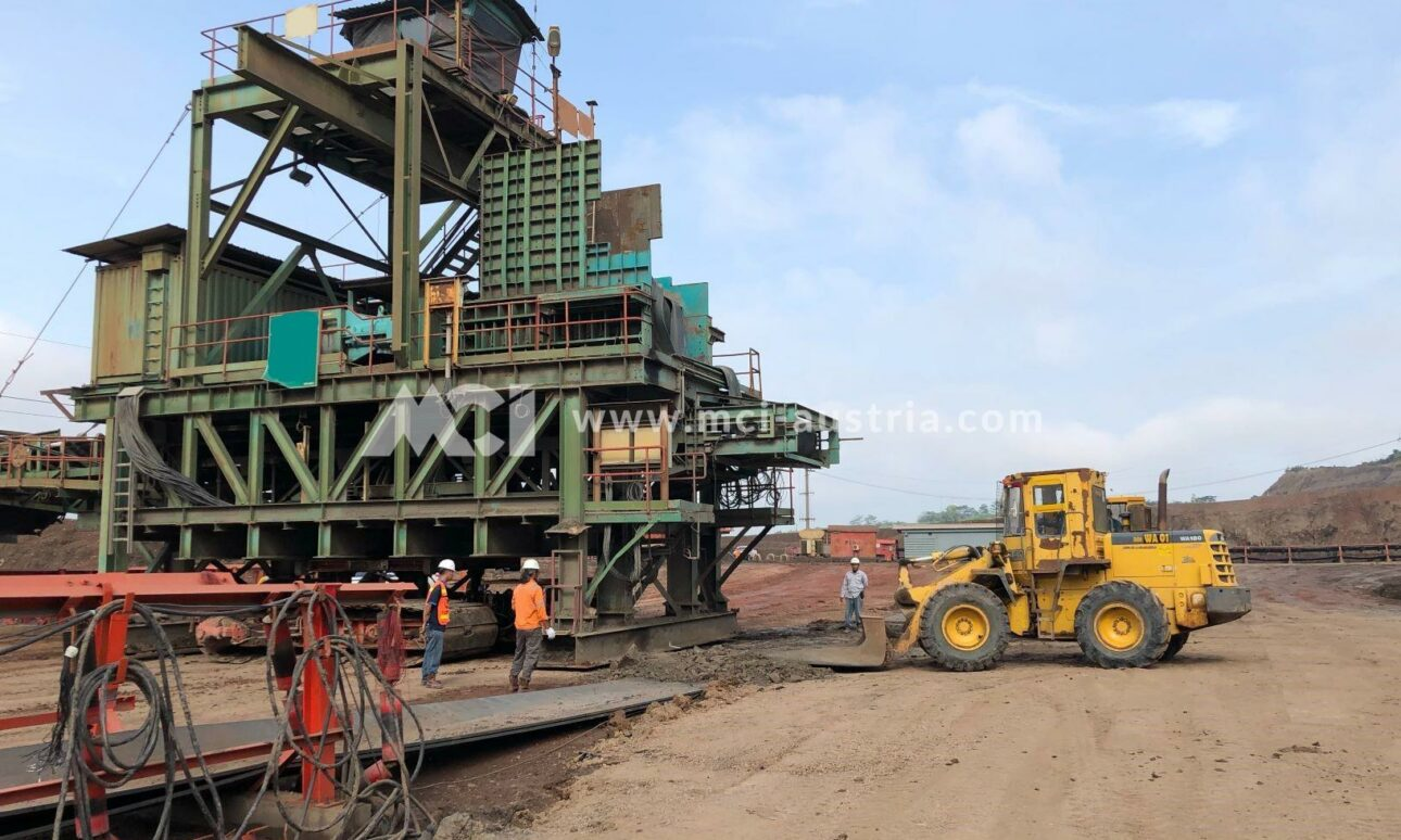 crusher for sale MMD MCI