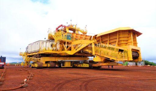 S11D crusher materials MCI