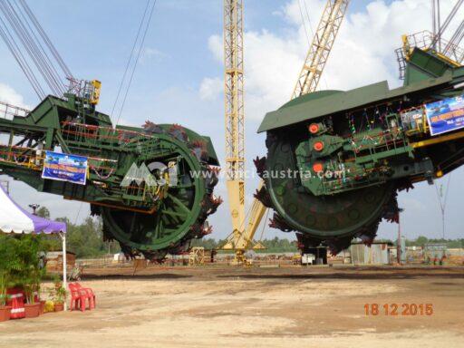 Neyveli NLC Bucket Wheel Excavator MCI