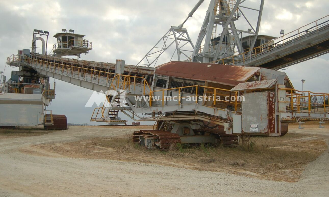 Used Mining Spreader for sale Demag