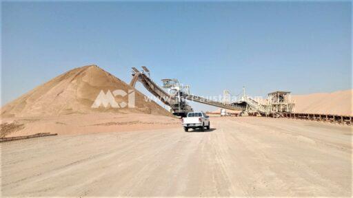 Spreader mining equipment