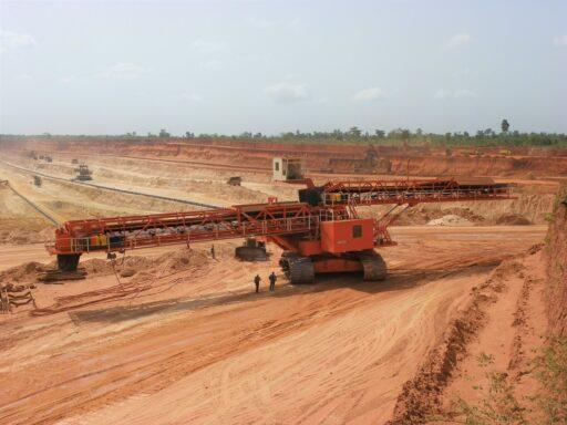 Beltwagon mining SNPT Togo