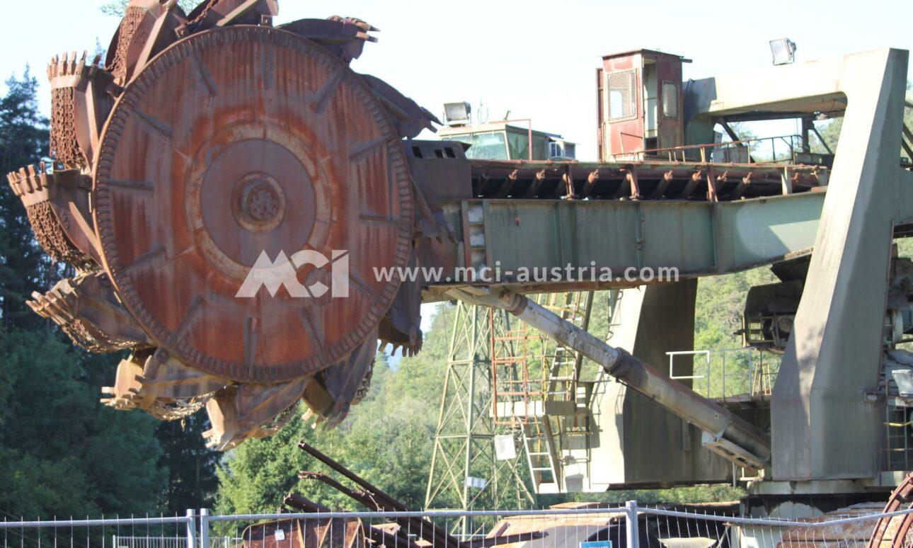 Used Bucket Wheel Excavator for sale MCI
