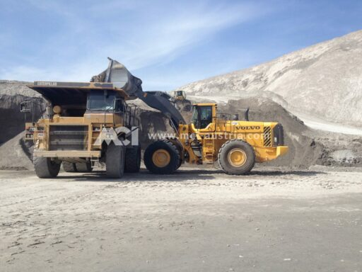 Mass-earth movement wheel loader MCI