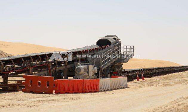 Conveyor belt sytsem Mining MCI