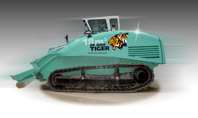 Scrapedozer SR-T18 TIGER dozer